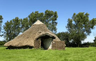 iron age round house
